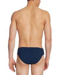 BOSS - Blue 'crab Bm' | Stretch Swim Briefs for Men - Lyst