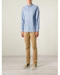Paul Smith | Blue Animal Print Shirt for Men | Lyst