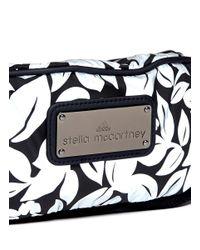 Adidas By Stella McCartney Multicolor 'run Bum' Reflective Floral Print Bag