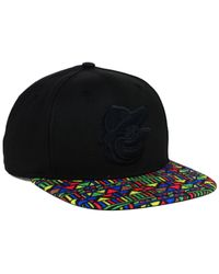 buy online cf799 985d6 KTZ Baltimore Orioles Mlb Viza Hook 9Fifty Snapback Cap in Black for ...