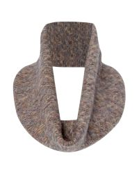 Crea Concept | Brown Knitted Scarf | Lyst
