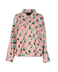 Marco Bologna - Pink Denim Outerwear - Lyst