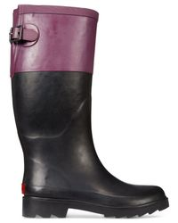 Chooka | Black Colorblock Rain Boots | Lyst