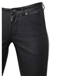 Burberry Brit - Black Nappa Leather Pants - Lyst