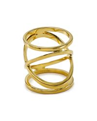 BaubleBar - Metallic Hourglass Ring - Lyst