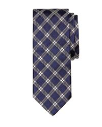 Brooks Brothers | Blue Windowpane Tie for Men | Lyst