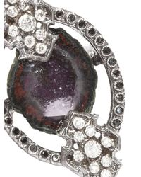 Armenta - Multicolor New World Geode Ring - Lyst