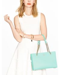 kate spade new york Blue Emerson Place Smooth Small Phoebe