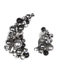 Dorothee Schumacher - Gray Classic Rebbellion Ear Cuffs - Lyst