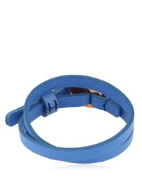 Alice Made This - Blue Edwin Leather Bracelet for Men - Lyst