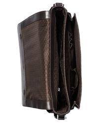 Michael Kors | Brown Jet Set Shadow Large Messenger Bag for Men | Lyst