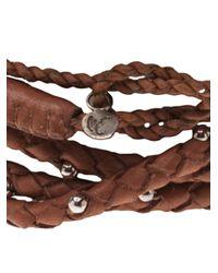 Maria Rudman - Brown Lasso Petra Bracelet for Men - Lyst