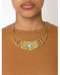 Pamela Love | Yellow 'frida' Necklace | Lyst