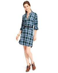 Tommy Hilfiger | Blue Plaid | Lyst