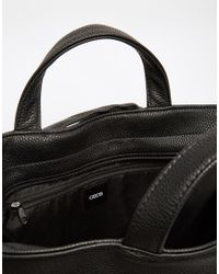 ASOS | Backpack Hybrid Tote In Black for Men | Lyst