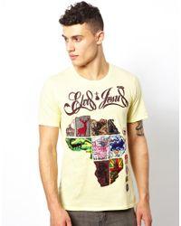Elvis Jesus | Yellow Tshirt Afritain for Men | Lyst