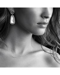 David Yurman | Purple Chatelaine Double Drop, Earrings With Diamonds | Lyst