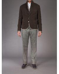 L'éclaireur - Gray Melange Knit Trouser for Men - Lyst