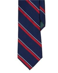 Lauren by Ralph Lauren | Blue Regency Striped Silk Repp Tie for Men | Lyst