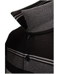 BOSS Green Black 'paddy' | Modern Fit, Cotton Polo Shirt for men