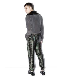 3.1 Phillip Lim - Multicolor Floral Jacquard Track Pant for Men - Lyst