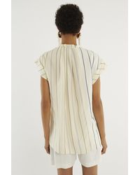 3.1 Phillip Lim White Twisted-neck Top