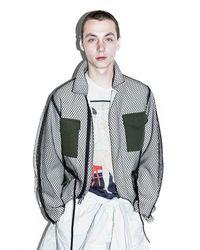 3.1 Phillip Lim | White Mesh Field Jacket for Men | Lyst