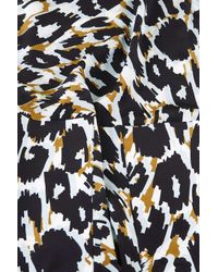 TOPSHOP - Blue Leopard Stripe Dress By Boutique - Lyst