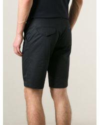 Lanvin - Black Tailored Shorts for Men - Lyst