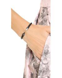 Vita Fede | Black Mini Titan Stone Bracelet | Lyst
