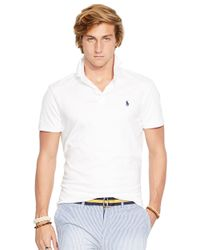 Polo Ralph Lauren | White Pima Soft-Touch Shirt for Men | Lyst