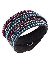 Swarovski | Slake Black Deluxe Bracelet | Lyst
