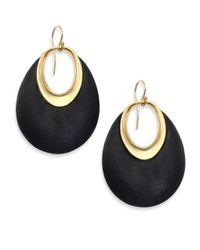 Alexis Bittar - Metallic Lucite Orbital Dangling Hoop Drop Earrings - Lyst
