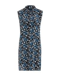 Equipment | Blue Star Print Sleeveless Dress | Lyst