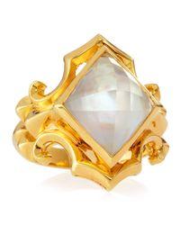 Stephen Webster | Yellow 14k Vermeil Superstud Crystal Haze Ring | Lyst