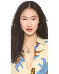 Kelly Wearstler Metallic Fixation Pendant Necklace
