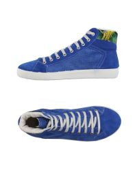 Springa | Blue High-tops & Trainers for Men | Lyst