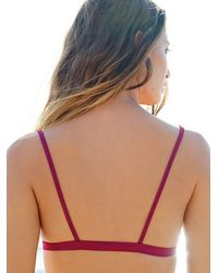 Free People | Purple Made By Dawn Womens Faith Top | Lyst