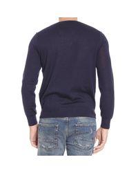 Polo Ralph Lauren | Blue Sweater Merino Slim Fit Crewnwck for Men | Lyst