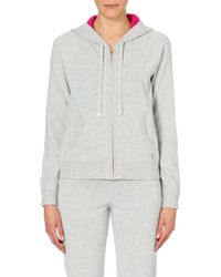 Juicy Couture Gray Cashmere Hoody - For Women