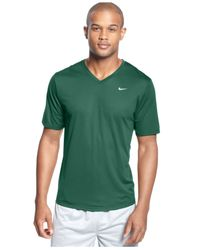 Nike - Green Challenger V-Neck T-Shirt for Men - Lyst