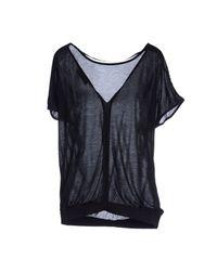 DIESEL - Black T-shirt - Lyst