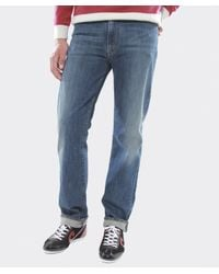 Armani Jeans - Blue Regular Fit Mid Wash Jeans for Men - Lyst