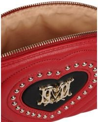 Love Moschino | Red Clutches | Lyst