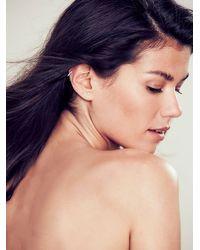 Free People - Metallic Maria Tash Womens Diamond Eternity Earring - Lyst
