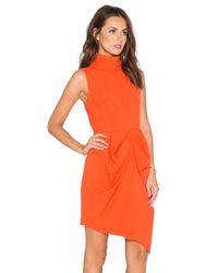 Finders Keepers Orange Pink Skies Dress