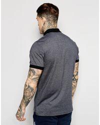 Ellesse Gray Marl Polo Shirt for men