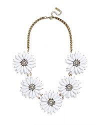 BaubleBar - White Poppy Collar - Lyst