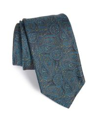 Robert Talbott Blue Paisley Silk Tie for men