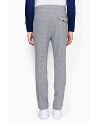 3.1 Phillip Lim - Black Tapered Single Pleat Trouser for Men - Lyst